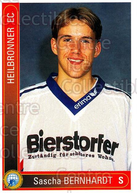 1994-95 German First League #148 Sascha Bernhardt<br/>11 In Stock - $2.00 each - <a href=https://centericecollectibles.foxycart.com/cart?name=1994-95%20German%20First%20League%20%23148%20Sascha%20Bernhard...&quantity_max=11&price=$2.00&code=30989 class=foxycart> Buy it now! </a>