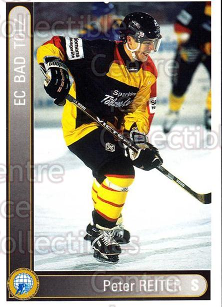 1994-95 German First League #15 Peter Reiter<br/>8 In Stock - $2.00 each - <a href=https://centericecollectibles.foxycart.com/cart?name=1994-95%20German%20First%20League%20%2315%20Peter%20Reiter...&quantity_max=8&price=$2.00&code=30991 class=foxycart> Buy it now! </a>