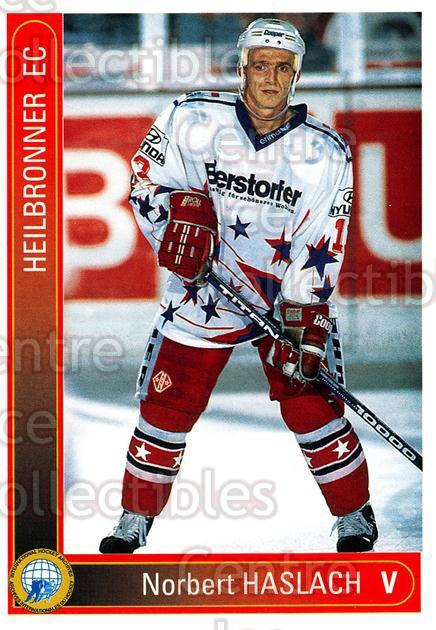 1994-95 German First League #150 Norbert Haslach<br/>11 In Stock - $2.00 each - <a href=https://centericecollectibles.foxycart.com/cart?name=1994-95%20German%20First%20League%20%23150%20Norbert%20Haslach...&quantity_max=11&price=$2.00&code=30992 class=foxycart> Buy it now! </a>