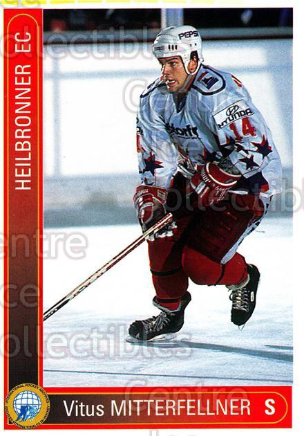 1994-95 German First League #151 Vitus Mitterfellner<br/>10 In Stock - $2.00 each - <a href=https://centericecollectibles.foxycart.com/cart?name=1994-95%20German%20First%20League%20%23151%20Vitus%20Mitterfel...&quantity_max=10&price=$2.00&code=30993 class=foxycart> Buy it now! </a>