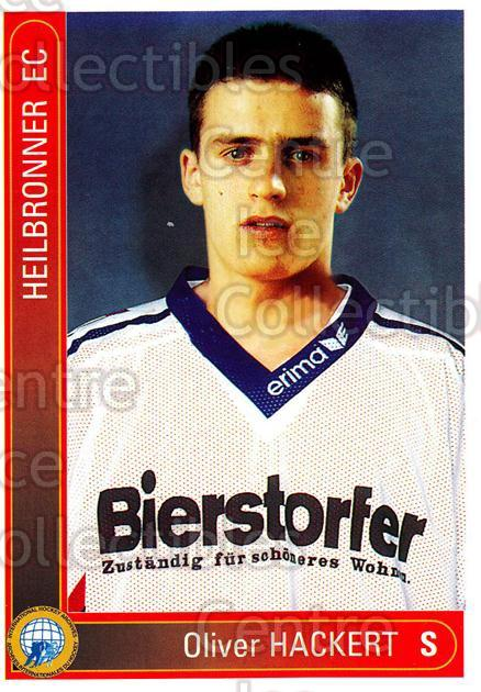 1994-95 German First League #155 Oliver Hackert<br/>9 In Stock - $2.00 each - <a href=https://centericecollectibles.foxycart.com/cart?name=1994-95%20German%20First%20League%20%23155%20Oliver%20Hackert...&price=$2.00&code=30997 class=foxycart> Buy it now! </a>