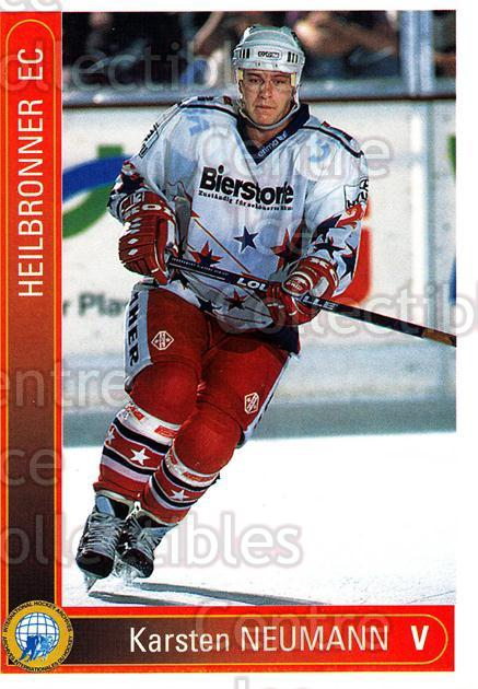 1994-95 German First League #157 Karsten Neumann<br/>10 In Stock - $2.00 each - <a href=https://centericecollectibles.foxycart.com/cart?name=1994-95%20German%20First%20League%20%23157%20Karsten%20Neumann...&price=$2.00&code=30999 class=foxycart> Buy it now! </a>