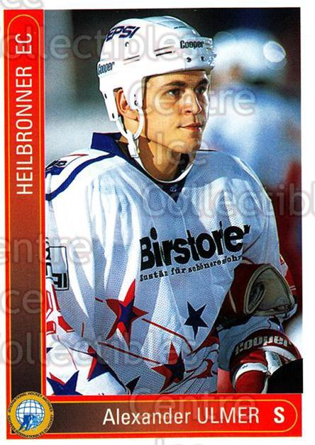 1994-95 German First League #158 Alexander Ulmer<br/>13 In Stock - $2.00 each - <a href=https://centericecollectibles.foxycart.com/cart?name=1994-95%20German%20First%20League%20%23158%20Alexander%20Ulmer...&price=$2.00&code=31000 class=foxycart> Buy it now! </a>