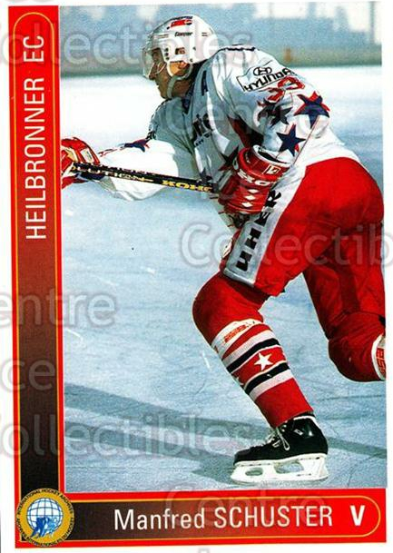 1994-95 German First League #161 Manfred Schuster<br/>6 In Stock - $2.00 each - <a href=https://centericecollectibles.foxycart.com/cart?name=1994-95%20German%20First%20League%20%23161%20Manfred%20Schuste...&quantity_max=6&price=$2.00&code=31003 class=foxycart> Buy it now! </a>