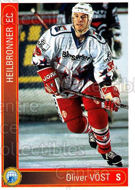 1994-95 German First League #162 Oliver Vost<br/>5 In Stock - $2.00 each - <a href=https://centericecollectibles.foxycart.com/cart?name=1994-95%20German%20First%20League%20%23162%20Oliver%20Vost...&quantity_max=5&price=$2.00&code=31004 class=foxycart> Buy it now! </a>