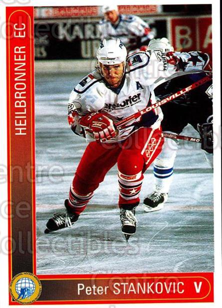 1994-95 German First League #163 Peter Stankovic<br/>10 In Stock - $2.00 each - <a href=https://centericecollectibles.foxycart.com/cart?name=1994-95%20German%20First%20League%20%23163%20Peter%20Stankovic...&quantity_max=10&price=$2.00&code=31005 class=foxycart> Buy it now! </a>