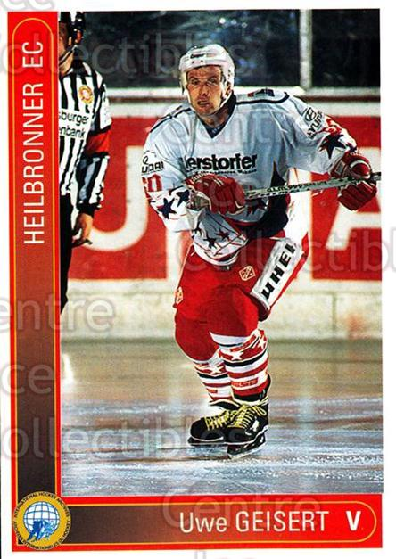 1994-95 German First League #164 Uwe Geisert<br/>11 In Stock - $2.00 each - <a href=https://centericecollectibles.foxycart.com/cart?name=1994-95%20German%20First%20League%20%23164%20Uwe%20Geisert...&price=$2.00&code=31006 class=foxycart> Buy it now! </a>