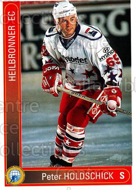 1994-95 German First League #165 Peter Holdschick<br/>9 In Stock - $2.00 each - <a href=https://centericecollectibles.foxycart.com/cart?name=1994-95%20German%20First%20League%20%23165%20Peter%20Holdschic...&price=$2.00&code=31007 class=foxycart> Buy it now! </a>