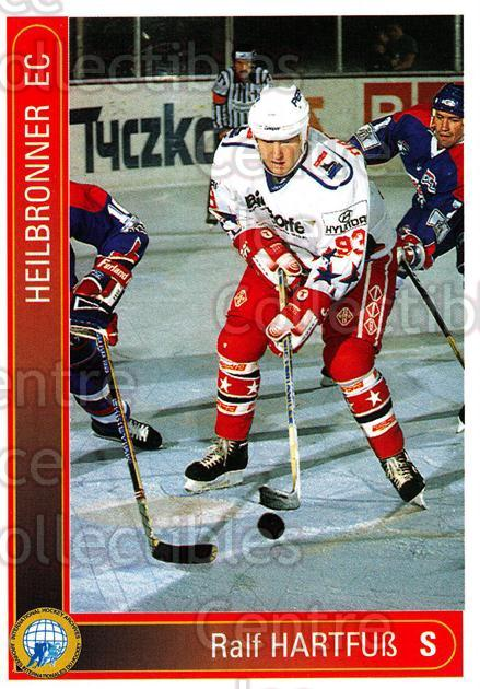 1994-95 German First League #166 Ralf Hartfuss<br/>7 In Stock - $2.00 each - <a href=https://centericecollectibles.foxycart.com/cart?name=1994-95%20German%20First%20League%20%23166%20Ralf%20Hartfuss...&price=$2.00&code=31008 class=foxycart> Buy it now! </a>