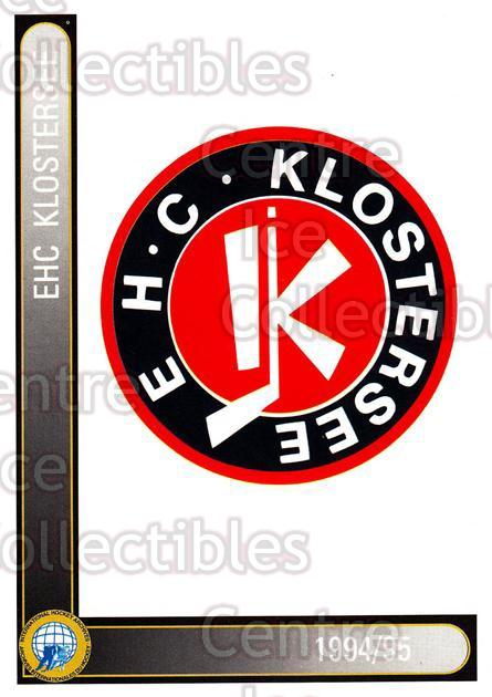 1994-95 German First League #168 Klostersee EHC<br/>9 In Stock - $2.00 each - <a href=https://centericecollectibles.foxycart.com/cart?name=1994-95%20German%20First%20League%20%23168%20Klostersee%20EHC...&quantity_max=9&price=$2.00&code=31010 class=foxycart> Buy it now! </a>
