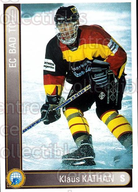 1994-95 German First League #17 Klaus Kathan<br/>14 In Stock - $2.00 each - <a href=https://centericecollectibles.foxycart.com/cart?name=1994-95%20German%20First%20League%20%2317%20Klaus%20Kathan...&quantity_max=14&price=$2.00&code=31012 class=foxycart> Buy it now! </a>