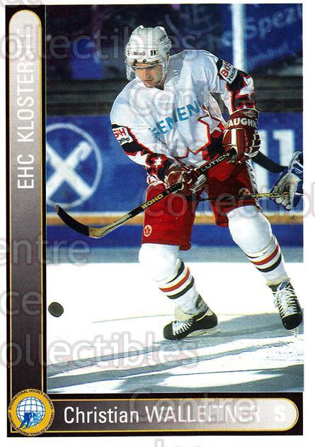 1994-95 German First League #182 Christian Walleitner<br/>12 In Stock - $2.00 each - <a href=https://centericecollectibles.foxycart.com/cart?name=1994-95%20German%20First%20League%20%23182%20Christian%20Walle...&quantity_max=12&price=$2.00&code=31026 class=foxycart> Buy it now! </a>