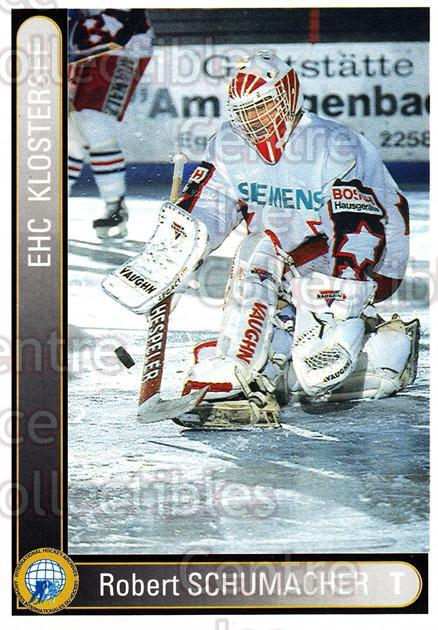1994-95 German First League #187 Robert Schumacher<br/>7 In Stock - $2.00 each - <a href=https://centericecollectibles.foxycart.com/cart?name=1994-95%20German%20First%20League%20%23187%20Robert%20Schumach...&quantity_max=7&price=$2.00&code=31031 class=foxycart> Buy it now! </a>