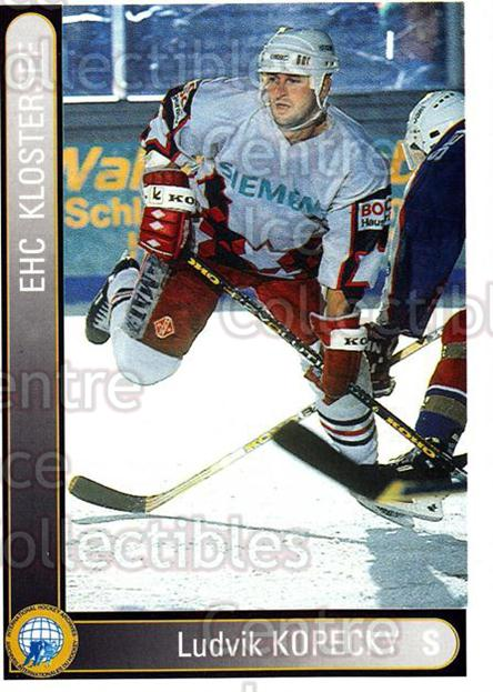 1994-95 German First League #188 Ludvik Kopecky<br/>12 In Stock - $2.00 each - <a href=https://centericecollectibles.foxycart.com/cart?name=1994-95%20German%20First%20League%20%23188%20Ludvik%20Kopecky...&quantity_max=12&price=$2.00&code=31032 class=foxycart> Buy it now! </a>