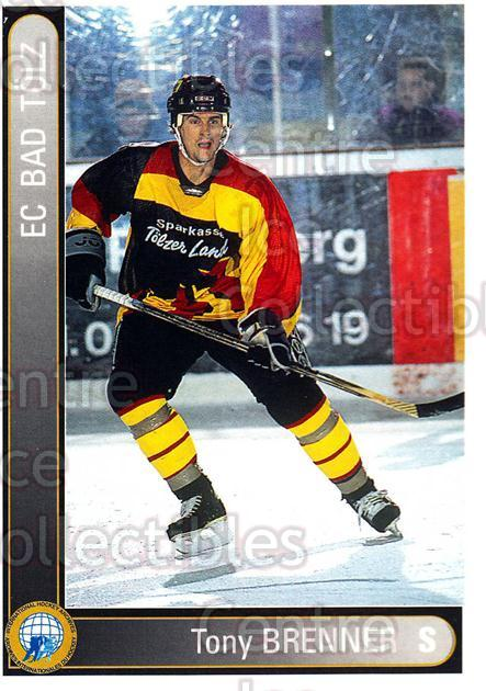 1994-95 German First League #19 Anthony Brenner<br/>8 In Stock - $2.00 each - <a href=https://centericecollectibles.foxycart.com/cart?name=1994-95%20German%20First%20League%20%2319%20Anthony%20Brenner...&quantity_max=8&price=$2.00&code=31034 class=foxycart> Buy it now! </a>