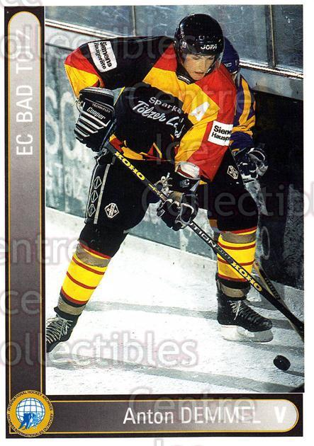 1994-95 German First League #20 Anton Demmel<br/>14 In Stock - $2.00 each - <a href=https://centericecollectibles.foxycart.com/cart?name=1994-95%20German%20First%20League%20%2320%20Anton%20Demmel...&quantity_max=14&price=$2.00&code=31045 class=foxycart> Buy it now! </a>