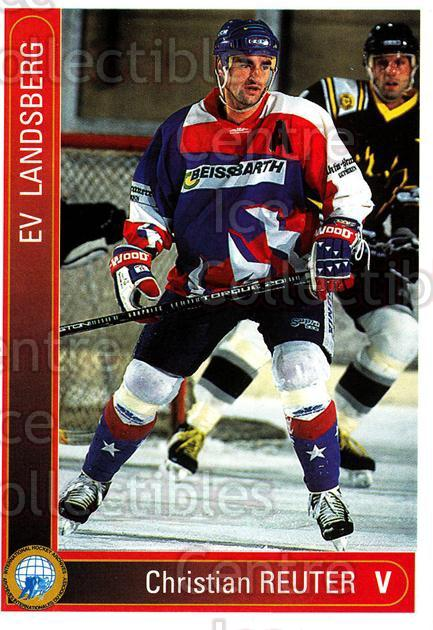1994-95 German First League #210 Christian Reuter<br/>14 In Stock - $2.00 each - <a href=https://centericecollectibles.foxycart.com/cart?name=1994-95%20German%20First%20League%20%23210%20Christian%20Reute...&quantity_max=14&price=$2.00&code=31056 class=foxycart> Buy it now! </a>