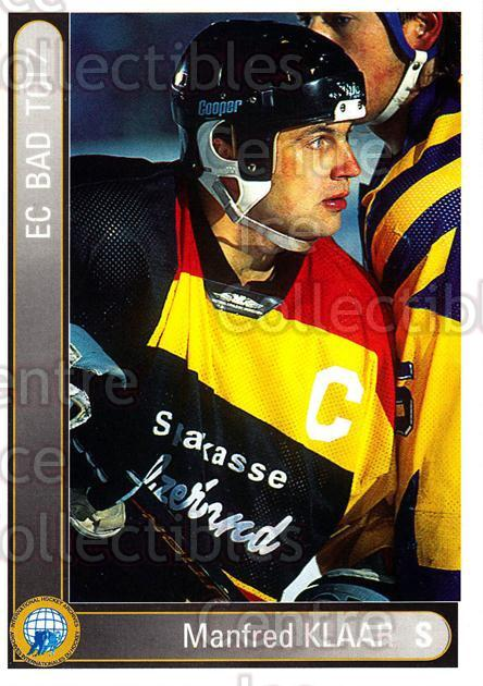 1994-95 German First League #22 Manfred Klaar<br/>7 In Stock - $2.00 each - <a href=https://centericecollectibles.foxycart.com/cart?name=1994-95%20German%20First%20League%20%2322%20Manfred%20Klaar...&quantity_max=7&price=$2.00&code=31066 class=foxycart> Buy it now! </a>