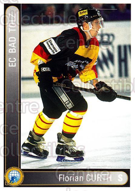 1994-95 German First League #23 Florian Curth<br/>11 In Stock - $2.00 each - <a href=https://centericecollectibles.foxycart.com/cart?name=1994-95%20German%20First%20League%20%2323%20Florian%20Curth...&quantity_max=11&price=$2.00&code=31077 class=foxycart> Buy it now! </a>