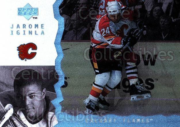 1996-97 UD Ice #78 Jarome Iginla<br/>3 In Stock - $2.00 each - <a href=https://centericecollectibles.foxycart.com/cart?name=1996-97%20UD%20Ice%20%2378%20Jarome%20Iginla...&quantity_max=3&price=$2.00&code=310923 class=foxycart> Buy it now! </a>