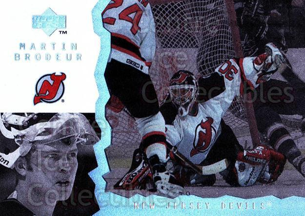 1996-97 UD Ice #92 Martin Brodeur<br/>3 In Stock - $3.00 each - <a href=https://centericecollectibles.foxycart.com/cart?name=1996-97%20UD%20Ice%20%2392%20Martin%20Brodeur...&price=$3.00&code=310926 class=foxycart> Buy it now! </a>