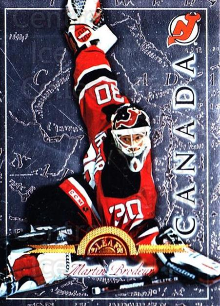 1997-98 Leaf International #7 Martin Brodeur<br/>2 In Stock - $2.00 each - <a href=https://centericecollectibles.foxycart.com/cart?name=1997-98%20Leaf%20International%20%237%20Martin%20Brodeur...&price=$2.00&code=311070 class=foxycart> Buy it now! </a>
