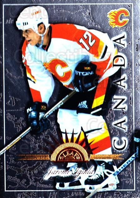 1997-98 Leaf International #14 Jarome Iginla<br/>3 In Stock - $1.00 each - <a href=https://centericecollectibles.foxycart.com/cart?name=1997-98%20Leaf%20International%20%2314%20Jarome%20Iginla...&quantity_max=3&price=$1.00&code=311072 class=foxycart> Buy it now! </a>