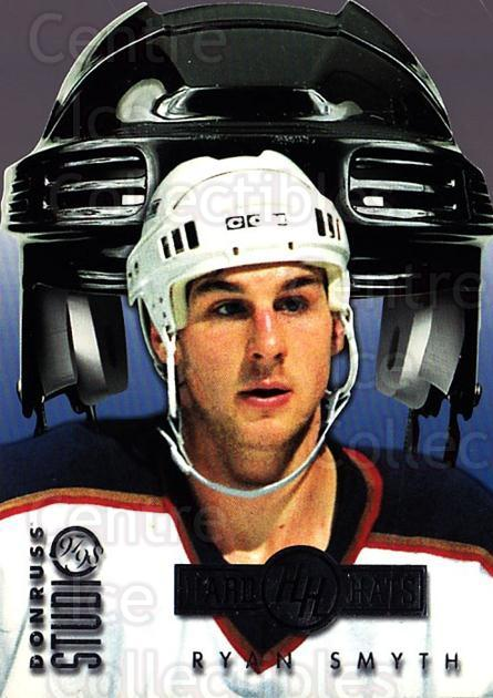 1997-98 Studio Hard Hats #8 Ryan Smyth<br/>1 In Stock - $5.00 each - <a href=https://centericecollectibles.foxycart.com/cart?name=1997-98%20Studio%20Hard%20Hats%20%238%20Ryan%20Smyth...&quantity_max=1&price=$5.00&code=311082 class=foxycart> Buy it now! </a>