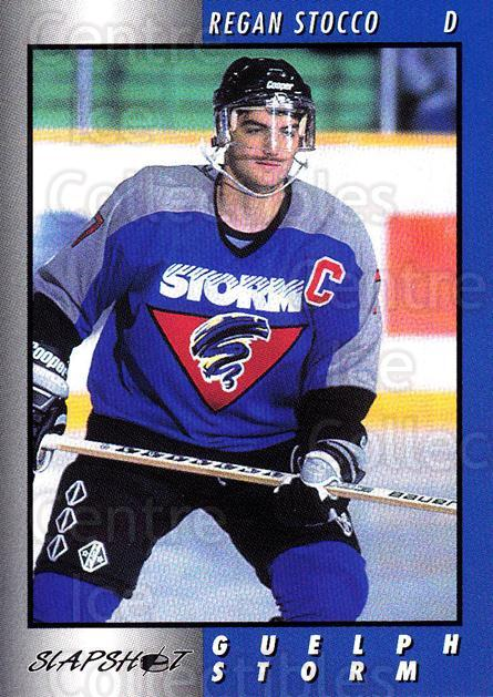 1994-95 Guelph Storm #8 Regan Stocco<br/>3 In Stock - $3.00 each - <a href=https://centericecollectibles.foxycart.com/cart?name=1994-95%20Guelph%20Storm%20%238%20Regan%20Stocco...&quantity_max=3&price=$3.00&code=31112 class=foxycart> Buy it now! </a>