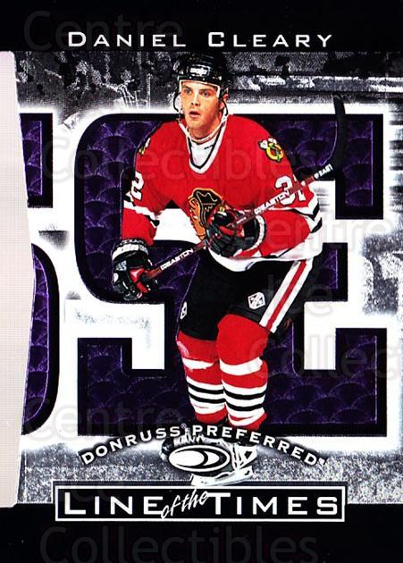 1997-98 Donruss Preferred Line of the Times #6C Daniel Cleary<br/>3 In Stock - $5.00 each - <a href=https://centericecollectibles.foxycart.com/cart?name=1997-98%20Donruss%20Preferred%20Line%20of%20the%20Times%20%236C%20Daniel%20Cleary...&quantity_max=3&price=$5.00&code=311323 class=foxycart> Buy it now! </a>