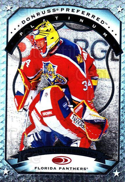 1997-98 Donruss Preferred #9 John Vanbiesbrouck<br/>3 In Stock - $10.00 each - <a href=https://centericecollectibles.foxycart.com/cart?name=1997-98%20Donruss%20Preferred%20%239%20John%20Vanbiesbro...&quantity_max=3&price=$10.00&code=311351 class=foxycart> Buy it now! </a>