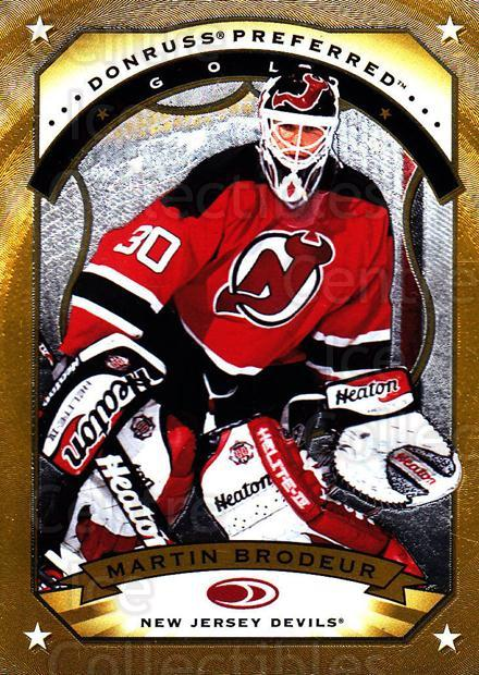 1997-98 Donruss Preferred #16 Martin Brodeur<br/>1 In Stock - $10.00 each - <a href=https://centericecollectibles.foxycart.com/cart?name=1997-98%20Donruss%20Preferred%20%2316%20Martin%20Brodeur...&price=$10.00&code=311355 class=foxycart> Buy it now! </a>