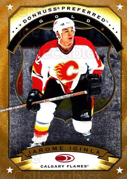1997-98 Donruss Preferred #17 Jarome Iginla<br/>2 In Stock - $5.00 each - <a href=https://centericecollectibles.foxycart.com/cart?name=1997-98%20Donruss%20Preferred%20%2317%20Jarome%20Iginla...&quantity_max=2&price=$5.00&code=311356 class=foxycart> Buy it now! </a>