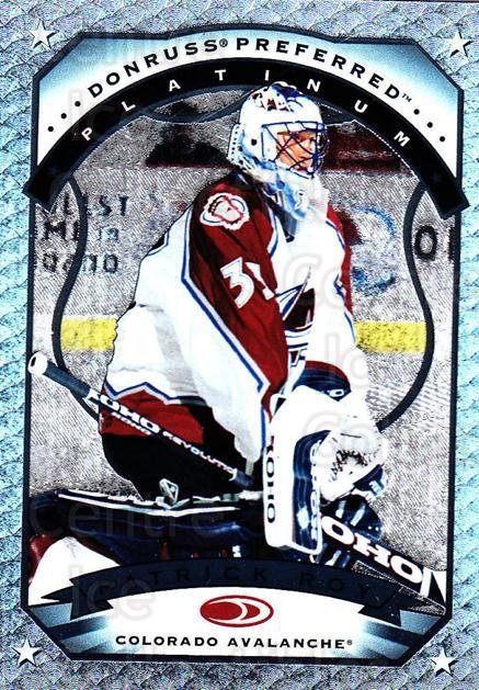 1997-98 Donruss Preferred #86 Patrick Roy<br/>3 In Stock - $30.00 each - <a href=https://centericecollectibles.foxycart.com/cart?name=1997-98%20Donruss%20Preferred%20%2386%20Patrick%20Roy...&quantity_max=3&price=$30.00&code=311377 class=foxycart> Buy it now! </a>