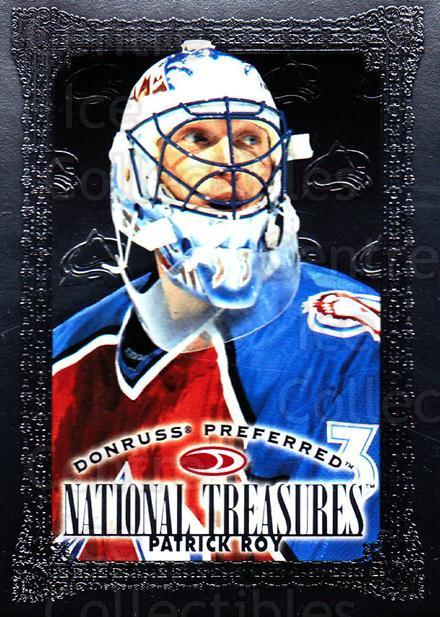 1997-98 Donruss Preferred #168 Patrick Roy<br/>3 In Stock - $10.00 each - <a href=https://centericecollectibles.foxycart.com/cart?name=1997-98%20Donruss%20Preferred%20%23168%20Patrick%20Roy...&quantity_max=3&price=$10.00&code=311403 class=foxycart> Buy it now! </a>