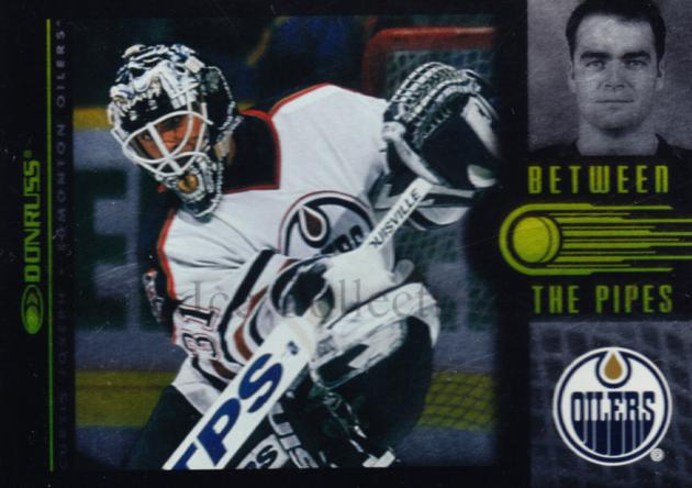 1997-98 Donruss Between The Pipes #8 Curtis Joseph<br/>2 In Stock - $5.00 each - <a href=https://centericecollectibles.foxycart.com/cart?name=1997-98%20Donruss%20Between%20The%20Pipes%20%238%20Curtis%20Joseph...&quantity_max=2&price=$5.00&code=311414 class=foxycart> Buy it now! </a>