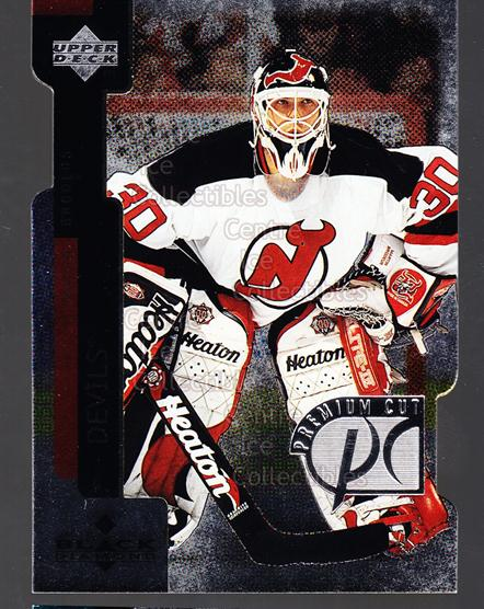 1997-98 Black Diamond Premium Cut #24 Martin Brodeur<br/>1 In Stock - $3.00 each - <a href=https://centericecollectibles.foxycart.com/cart?name=1997-98%20Black%20Diamond%20Premium%20Cut%20%2324%20Martin%20Brodeur...&price=$3.00&code=311505 class=foxycart> Buy it now! </a>