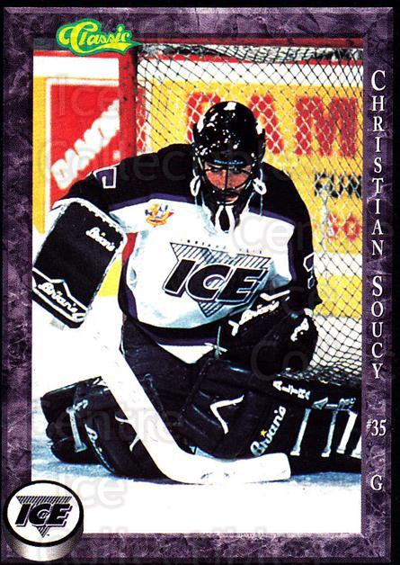 1994-95 Indianapolis Ice #23 Christian Soucy<br/>1 In Stock - $3.00 each - <a href=https://centericecollectibles.foxycart.com/cart?name=1994-95%20Indianapolis%20Ice%20%2323%20Christian%20Soucy...&quantity_max=1&price=$3.00&code=31151 class=foxycart> Buy it now! </a>