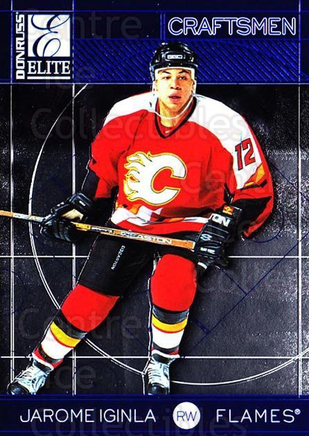 1997-98 Donruss Elite Craftsmen #17 Jarome Iginla<br/>5 In Stock - $3.00 each - <a href=https://centericecollectibles.foxycart.com/cart?name=1997-98%20Donruss%20Elite%20Craftsmen%20%2317%20Jarome%20Iginla...&quantity_max=5&price=$3.00&code=311616 class=foxycart> Buy it now! </a>