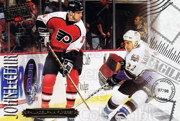 1997-98 Donruss Priority Postcards #21 John LeClair<br/>4 In Stock - $3.00 each - <a href=https://centericecollectibles.foxycart.com/cart?name=1997-98%20Donruss%20Priority%20Postcards%20%2321%20John%20LeClair...&quantity_max=4&price=$3.00&code=311762 class=foxycart> Buy it now! </a>