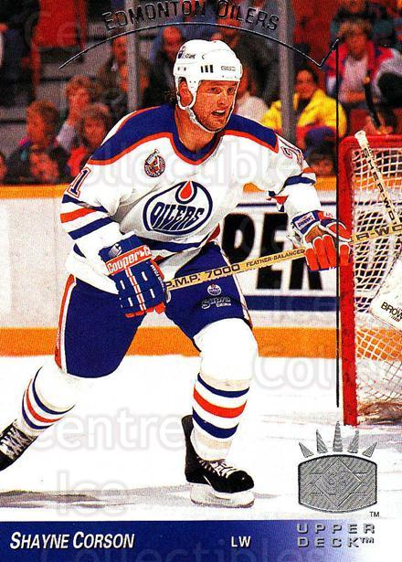 1993-94 Upper Deck SP #49 Shayne Corson<br/>4 In Stock - $1.00 each - <a href=https://centericecollectibles.foxycart.com/cart?name=1993-94%20Upper%20Deck%20SP%20%2349%20Shayne%20Corson...&quantity_max=4&price=$1.00&code=3117 class=foxycart> Buy it now! </a>