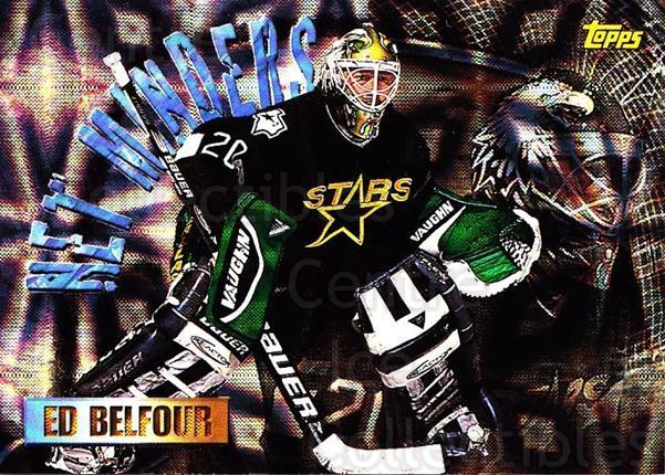 1998-99 Topps Seasons Best #3 Ed Belfour<br/>1 In Stock - $3.00 each - <a href=https://centericecollectibles.foxycart.com/cart?name=1998-99%20Topps%20Seasons%20Best%20%233%20Ed%20Belfour...&quantity_max=1&price=$3.00&code=312025 class=foxycart> Buy it now! </a>