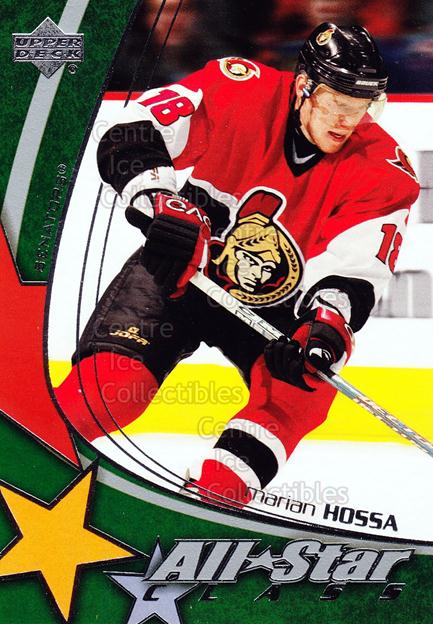 2003-04 Upper Deck AS Class #20 Marian Hossa<br/>3 In Stock - $3.00 each - <a href=https://centericecollectibles.foxycart.com/cart?name=2003-04%20Upper%20Deck%20AS%20Class%20%2320%20Marian%20Hossa...&quantity_max=3&price=$3.00&code=312217 class=foxycart> Buy it now! </a>
