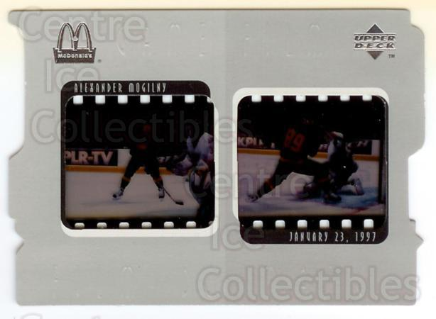 1997-98 McDonalds Upper Deck Game Film #2 Alexander Mogilny<br/>1 In Stock - $5.00 each - <a href=https://centericecollectibles.foxycart.com/cart?name=1997-98%20McDonalds%20Upper%20Deck%20Game%20Film%20%232%20Alexander%20Mogil...&quantity_max=1&price=$5.00&code=312226 class=foxycart> Buy it now! </a>