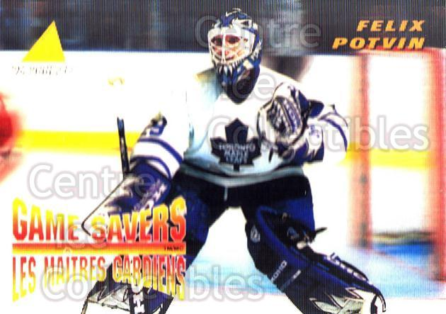 1995-96 McDonalds Pinnacle #26 Felix Potvin<br/>4 In Stock - $1.00 each - <a href=https://centericecollectibles.foxycart.com/cart?name=1995-96%20McDonalds%20Pinnacle%20%2326%20Felix%20Potvin...&quantity_max=4&price=$1.00&code=312243 class=foxycart> Buy it now! </a>
