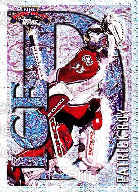 1996-97 Topps Picks Ice D #7 Patrick Roy<br/>1 In Stock - $10.00 each - <a href=https://centericecollectibles.foxycart.com/cart?name=1996-97%20Topps%20Picks%20Ice%20D%20%237%20Patrick%20Roy...&price=$10.00&code=312272 class=foxycart> Buy it now! </a>