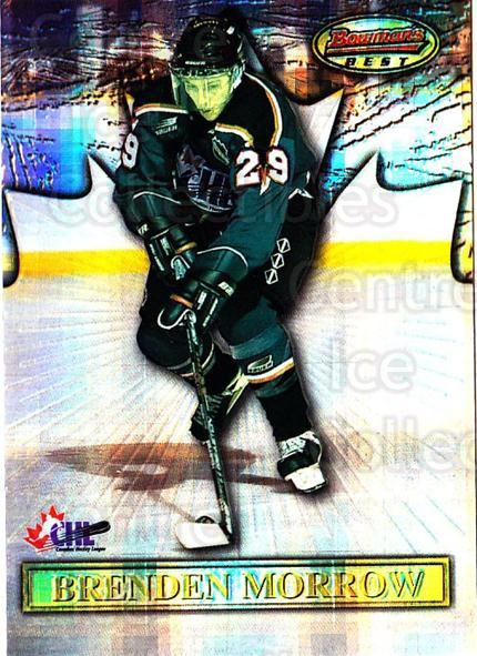 1997 Bowman CHL Bowmans Best Atomic Refractors #16 Brenden Morrow<br/>1 In Stock - $5.00 each - <a href=https://centericecollectibles.foxycart.com/cart?name=1997%20Bowman%20CHL%20Bowmans%20Best%20Atomic%20Refractors%20%2316%20Brenden%20Morrow...&quantity_max=1&price=$5.00&code=312310 class=foxycart> Buy it now! </a>