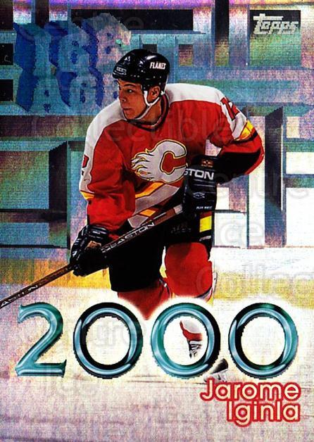 1998-99 Topps Ice Age 2000 #3 Jarome Iginla<br/>2 In Stock - $3.00 each - <a href=https://centericecollectibles.foxycart.com/cart?name=1998-99%20Topps%20Ice%20Age%202000%20%233%20Jarome%20Iginla...&quantity_max=2&price=$3.00&code=312356 class=foxycart> Buy it now! </a>