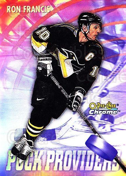 1998-99 O-Pee-Chee Chrome Seasons Best Refractors #22 Ron Francis<br/>1 In Stock - $5.00 each - <a href=https://centericecollectibles.foxycart.com/cart?name=1998-99%20O-Pee-Chee%20Chrome%20Seasons%20Best%20Refractors%20%2322%20Ron%20Francis...&quantity_max=1&price=$5.00&code=312554 class=foxycart> Buy it now! </a>