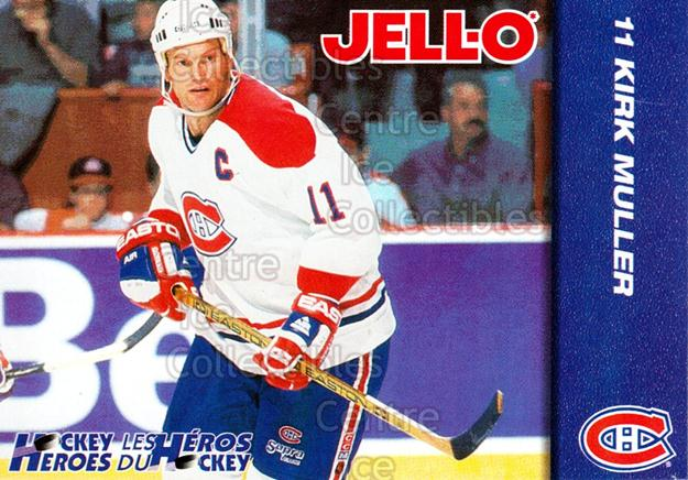 1994-95 Kraft Jell-O Hockey Heroes #9 Kirk Muller<br/>6 In Stock - $3.00 each - <a href=https://centericecollectibles.foxycart.com/cart?name=1994-95%20Kraft%20Jell-O%20Hockey%20Heroes%20%239%20Kirk%20Muller...&quantity_max=6&price=$3.00&code=31269 class=foxycart> Buy it now! </a>